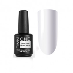 ONE NAIL base coat ULTRA WHITE 15мл