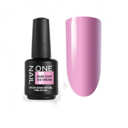 ONE NAIL base coat ICE CREAM 15мл