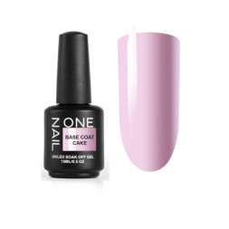 ONE NAIL base coat CAKE  15мл